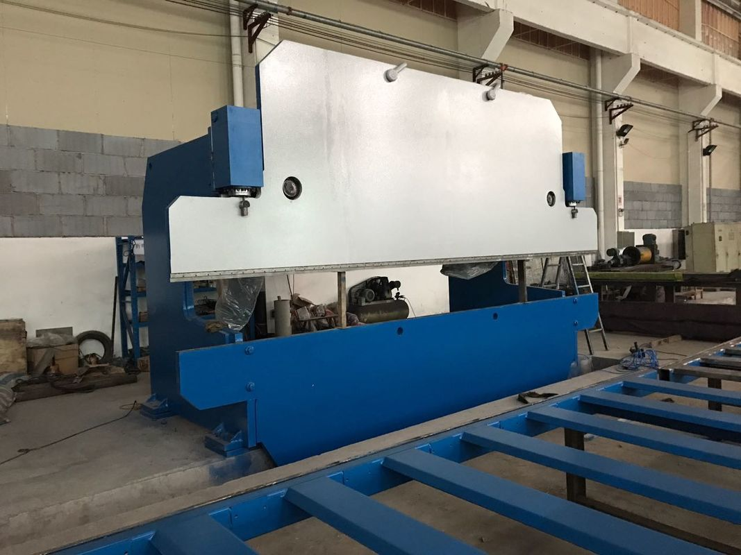 125T / 4000mm CNC Hydraulic Press Brake Bending Machine for Steel Plate