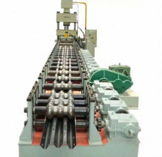 Two Waves And Three Waves Highway Guardrail Roll Forming Machine